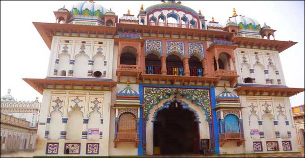 Janki Mandir is the biggest temple of Janakpur
