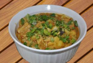 How to make kathal vegetable mithila style