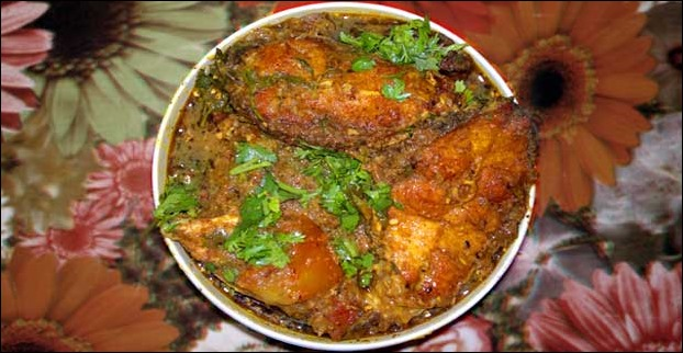 fish curry mithila