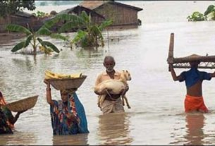 Flood water inundates more villages in Kusheshwarsthan
