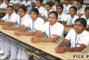 Priyadarshini School of Nursing was opened at Darbhanga