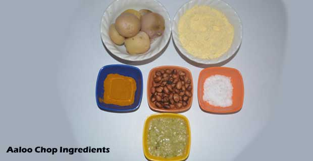 Aloo Chop Recipe Ingredients