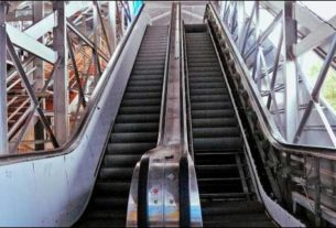 Darbhanga station will soon have escalator like this installed for passengers