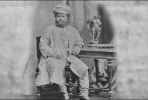 King Rameshwar Singh of Darbhanga had the unique Naulakha haar