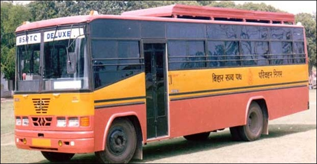 Low fare buses from Darbhanga to nearby places flagged off