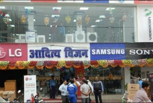 Electronic show room Aditya Vision near Income Tax Chowk Darbhanga