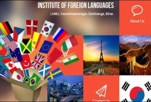 French language classes in LNMU starts from August 30 , 2016