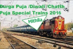 Special Trains to Kolkata,Delhi,Mumbai from Mithila announced by Railways
