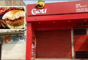 Goli Vada Pav fast food outlet near Poor Home Darbhanga
