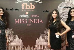 Miss India 2017 Contestants from Bihar - Tanushree , Neha Jha and Priyanka