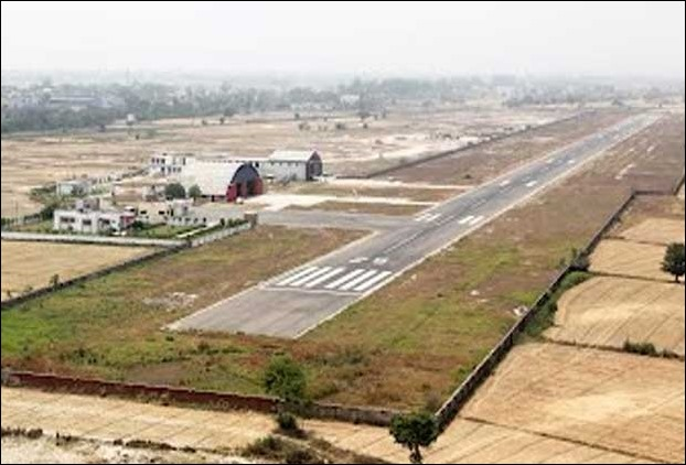 Darbhanga Airport News - Recarpeting and Porta Canin works to follow