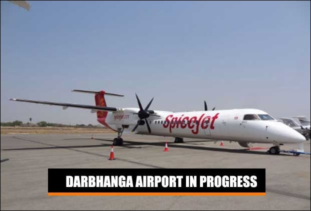 In absence of conducive Darbhanga airport airstrip Spice Jet might use Q400 from its fleet