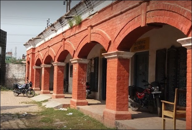 A snapshot of Raj High School in Darbhanga