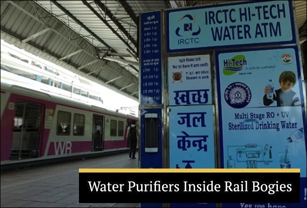 East Central Railways to setup RO water purifiers in General Bogey coaches