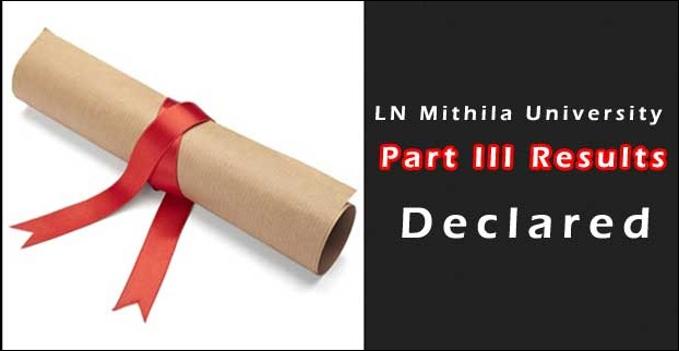 Degree Part 3 2015 results announced by LNMU