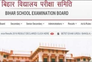 Bihar Intermediate Arts and vocational courses 2016 results on May 28