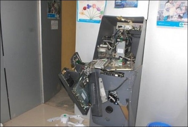 Thieves break open 3 ATM's in Darbhanga , Several lakhs looted »  MithilaConnect Local